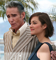 Actor Mark Mahoney and Actress Marion Cotillard at the Blood Ties film photocall at the Cannes Film Festival Monday 20th May 2013
