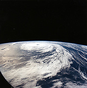 Hurricane 'Florence' taken from Space Shuttle Atlantis from 165n. miles above earth. NASA