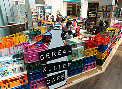 Cereal Killer Cafe  inside Dubai Mall, UAE