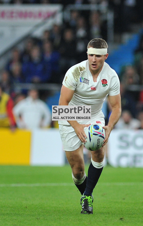 Richard Wigglesworth of England during the IRB RWC 2015 Pool A match between England and Wales at Twickenham Stadium on Saturday 26 September 2015, London, England. (c) Ian Nancollas | SportPix.org.uk