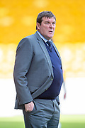Tommy Wright, manager of St Johnstone FC during the Ladbrokes Scottish Premiership match between St Johnstone and Motherwell at McDiarmid Stadium, Perth, Scotland on 11 May 2019.