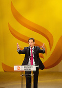 Liberal Democrats Spring Conference<br /> at the Barbican Centre, York, Great Britain <br /> 7th to 9th March 2014 <br /> <br /> Rt Hon Nick Clegg MP<br /> Leader of the Liberal Democrats and Deputy Prime Minister <br /> <br /> Rt Hon Vince Cable MP <br /> Secretary of State for Business, Innovation and Skills <br /> Member of Parliament for Twickenham<br /> <br /> Danny Alexander MP<br /> Chief Secretary to the Treasury<br /> Member of Parliament for the Inverness, Nairn, Badenoch & Strathspey <br /> <br /> The Lord Ian Wrigglesworth<br /> <br /> York Cocoa House <br /> <br /> Sarah Yong Liberal Democrat PPC for Somerton and Frome<br /> Julie Porksen, Liberal Democrat PPC for Berwick-upon-Tweed<br /> Lisa Smart, Liberal Democrat PPC for Hazel Grove<br /> Vikki Slade, Liberal Democrat PPC for Mid Dorset and North Poole<br /> Ibrahim Taguri, Liberal Democrat PPC for Brent Central<br /> <br /> Vice Chancellor<br /> of York University <br /> Koen Lamberts <br /> <br /> Tim Farron MP<br /> President of the Liberal Democrats<br /> Member of Parliament for the constituency of Westmorland and Lonsdale<br /> <br /> Lorely Jane Burt MP for Solihull.<br /> <br /> Photograph by Elliott Franks
