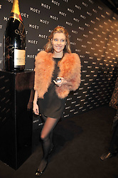 SARA BRAJOVIC at the Moet & Chandon Tribute to Cinema party held at the Big Sky Studios, Brewery Road, London N7 on 24th March 2009.