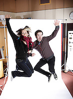 2FM DJ's Ruth Scott and Paddy McKenna Pic: Marc O'Sullivan