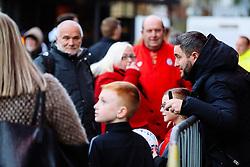 Bristol City Head Coach Lee Johnson arrives - Rogan/JMP - 12/02/2020 - Ashton Gate Stadium - Bristol, England - Bristol City v Derby County - Sky Bet Championship.