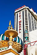 Exterior of Trump Taj Mahal casino, Atlantic City, New Jersey, NJ, USA