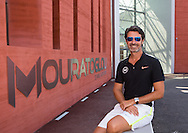 Mouratoglou Tennis Academy M.T.A Sophia Country Club, Biot, FRA.<br /> Patrick Mouratoglou (FRA) in front of his academy.<br /> <br />  - Mouratoglou Tennis Academy  -  -   Sophia Country Club, - Biot -  - Frankreich  - 26 July 2016. <br /> &copy; Juergen Hasenkopf