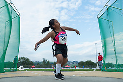 04/08/2017; Vergara Quezada, Guadalupe, F41, MEX at 2017 World Para Athletics Junior Championships, Nottwil, Switzerland