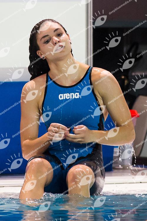 SCALIA Silvia - SMGM Team Nuoto Lombardia<br /> 100m dorso donne <br /> Campionati Italiani Assoluti Nuoto Invernali Open Fin<br /> Riccione Italy 19/12/2015<br /> Photo Giorgio Perottino/Deepbluemedia/Insidefoto