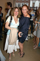 Left to right, GILLIAN ANDERSON and STELLA McCARTNEY at the Peta (People for the Ethical Treatment of Animals) Humanitarian Awards held at Stella McCartney, 30 Bruton Street, London W1 on 28th June 2006.<br /><br />NON EXCLUSIVE - WORLD RIGHTS