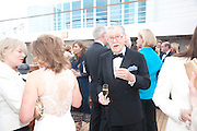 ALAN WHICKER, Breast Cancer Haven 10th Anniversary Gala Event aboard Super Luxury Yacht Seabourn Sojourn. Off Canary Wharf. London. 5 June 2010. -DO NOT ARCHIVE-© Copyright Photograph by Dafydd Jones. 248 Clapham Rd. London SW9 0PZ. Tel 0207 820 0771. www.dafjones.com.