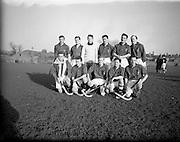 30/01/1953<br /> 01/30/1953<br /> 30 January 1953<br /> Interprovincial Men's Hockey at Londonbridge Road, Dublin. The Leinster team.