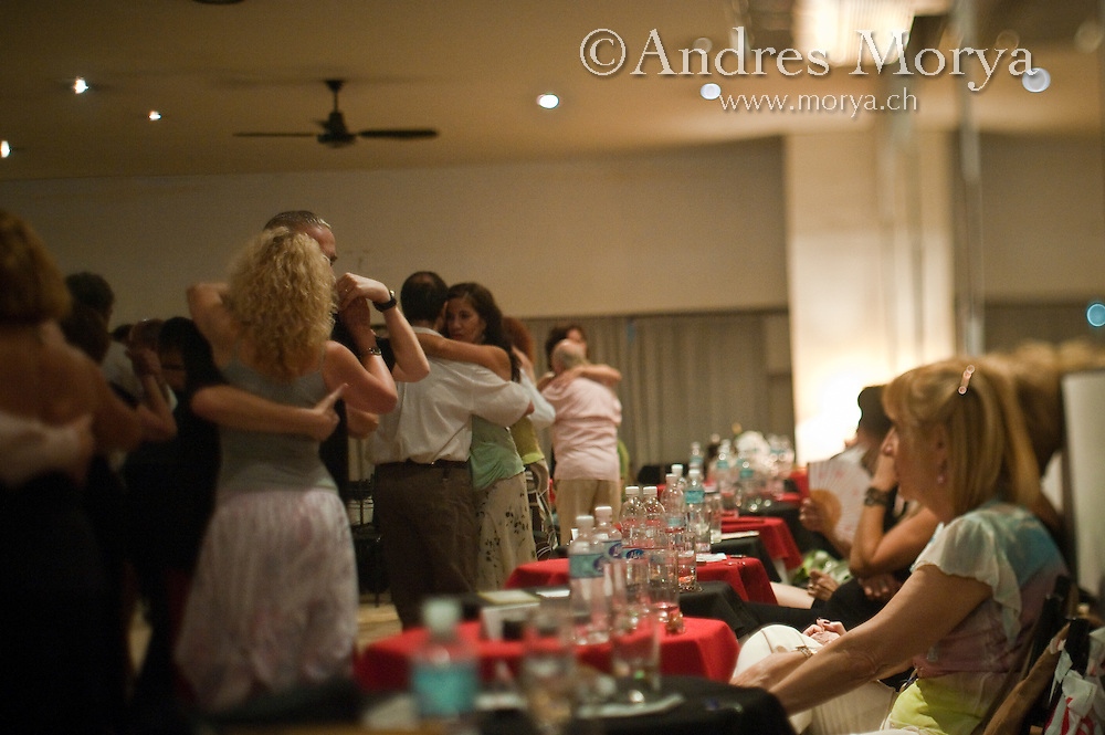 Tango Dancers in the Milonga Maipu 444, Buenos Aires, Argentina Image by Andres Morya