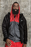 Sports Advertising portrait of NBA athlete James Harden by Michel Leroy PHOTOGRAPHER