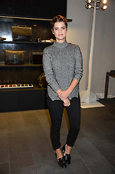 PIXIE GELDOF at the opening of the Tiger of Sweden Store, 210 Piccadilly, London on 3rd October 2013.
