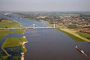 Nederland, Gelderland, West Maas en Waal, 27-05-2013; Prins Alexanderbrug over de Waal bij Beneden-Leeuwen.<br /> Bridge across river Waal (Rhine).<br /> luchtfoto (toeslag op standaardtarieven);<br /> aerial photo (additional fee required);<br /> copyright foto/photo Siebe Swart.