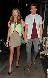 Lydia Rose-Bright and Tom Kilbey attend the Beautiful Movements Cosmetics relaunch party held at the Sanctum Soho Hotel in London, UK. 12/03/2013<br /> BYLINE MUST READ : GOTCHAIMAGES.COM<br /><br />Copyright by © Gotcha Images Ltd. All rights reserved.<br />Usage of this image is conditional upon the acceptance <br />of Gotcha Images Ltd, terms and conditions available at<br />www.gotchaimages.com
