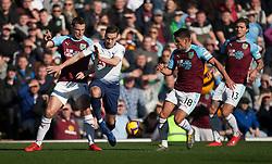 Harry Winks of Tottenham Hotspur (2nd L) in action against Burnley - Mandatory by-line: Jack Phillips/JMP - 23/02/2019 - FOOTBALL - Turf Moor - Burnley, England - Burnley v Tottenham Hotspur - English Premier League