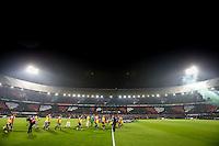 ROTTERDAM - Feyenoord - Vitesse , Voetbal , Eredivisie , Seizoen 2016/2017 , De Kuip , 16-12-2016 , Sfeeractie voor de hartstichting in samenwerking met Opel