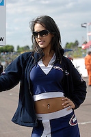 2008 British Touring Car Championship.Thruxton Circuit, Hampshire, United Kingdom.  17th-18th May 2008..Motorbase Performance Grid Girl.World Copyright: Peter Taylor/PSP