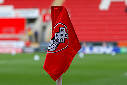 A general view of Rotherham United's Aesseal New York Stadium corner flag - Mandatory by-line: Ryan Crockett/JMP - 16/12/2017 - FOOTBALL - Aesseal New York Stadium - Rotherham, England - Rotherham United v Plymouth Argyle - Sky Bet League One