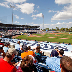 February 26, 2011; Port Charlotte, FL, USA; A general view during a sold out spring training exhibition game between the Pittsburgh Pirates and the Tampa Bay Rays at Charlotte Sports Park.  Mandatory Credit: Derick E. Hingle