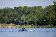 Rower on Fanshawe Lake 2013