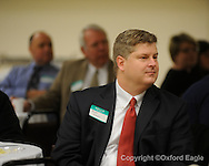 Jeff Couser at Chamber of Commerce Eggs and Issues at Oxford Conference Center on Monday, January 4, 2010
