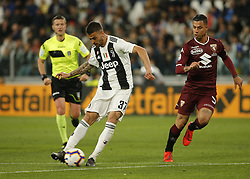 May 3, 2019 - Turin, ITA, Italy - Leonardo Spinazzola during Serie A match between Juventus v Torino, in Turin, on May 3, 2019  (Credit Image: © Loris Roselli/NurPhoto via ZUMA Press)