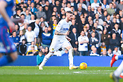Pontus Jansson of Leeds United (18) in action during the EFL Sky Bet Championship match between Leeds United and Bolton Wanderers at Elland Road, Leeds, England on 23 February 2019.