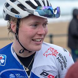 09-12-2018: Wielrennen: EK beachrace: Scheveningen <br />Rozanne Slik