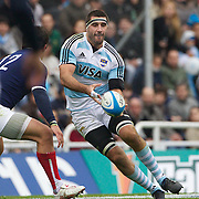 Juan Martin Fernandez Lobbe, Argentina, in action during the Argentina V France test match at Estadio Jose Amalfitani, Buenos Aires,  Argentina. 26th June 2010. Photo Tim Clayton..