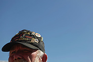 A Veteran Warrant Officer of the 11th ACR. Vietnam Veterans gather in Kokomo, Indiana for the 2009 reunion.