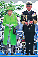 70th D-Day - Queen &  Charles At Bayeux Cemetery