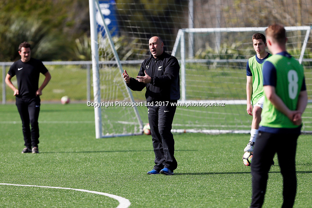New Zealand Football Senior Level 2 coaching clinic, North Harbour Stadium, Albany, Auckland. 21 September 2017. Copyright Image: William Booth / www.photosport.nz