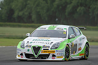 #11 Rob Austin Duo Motorsport with HMS Alfa Romeo Giulietta during BTCC Practice  of the 2018 British Touring Car Championship at Croft, Dalton On Tees, North Yorkshire, United Kingdom. June 23 2018. World Copyright Peter Taylor/PSP.