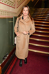 SUZI PERRY at the opening night of Amaluna by Cirque Du Soleil at The Royal Albert Hall, London on 19th January 2016.