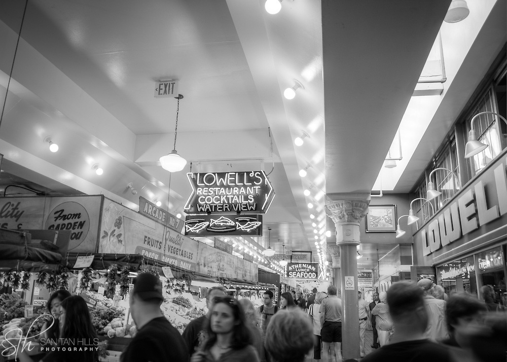 Scene from Pike Place Market - Seattle, WA