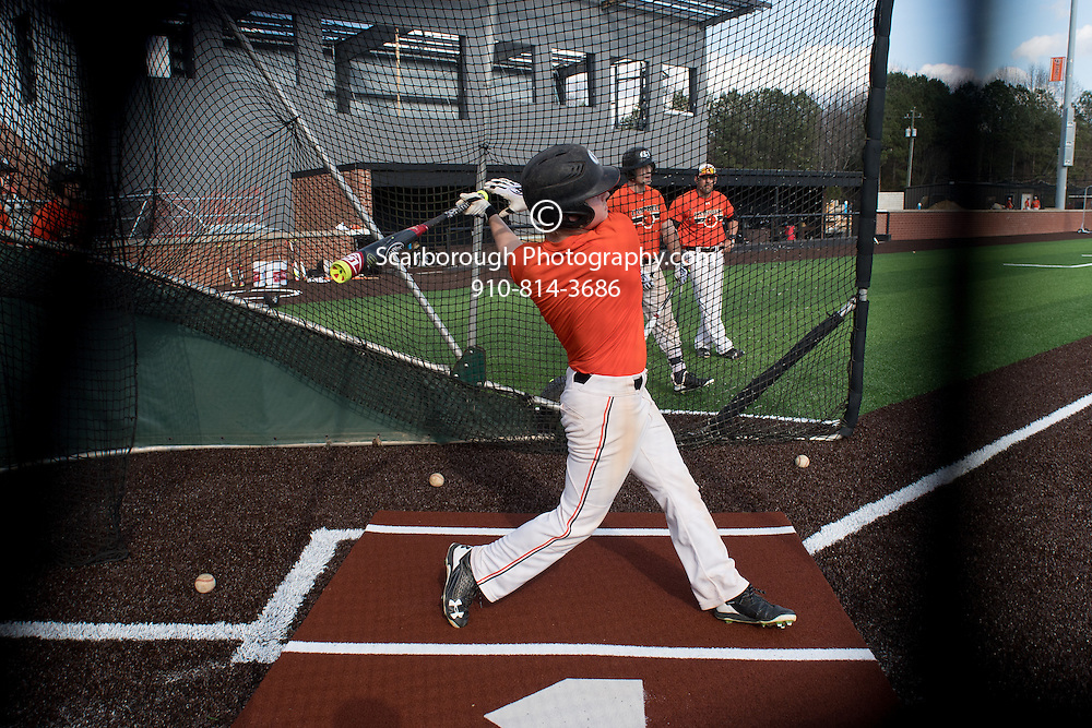 2017 Campbell University Baseball 1st Practice<br />  Photo By Bennett Scarborough