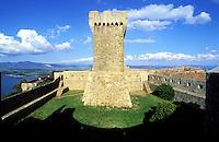 Italie - Toscane - Province de Grosseto - Village de Populonia - village médieval // Italy, Tuscany, Grosseto province, Populonia village