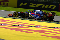 August 30, 2019, Spa Francorchamps, Belgium: Toro Rosso Driver DANIIL KVIAT (RUS) in action during the second free practice session of the Formula one Belgian Grand Prix at the SPA Francorchamps circuit - Belgium (Credit Image: © Pierre Stevenin/ZUMA Wire)