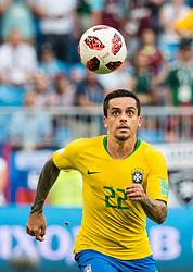 July 2, 2018 - Samara, Russia - 180702 Fagner of Brazil during the FIFA World Cup round of 16 match between Brazil and Mexico on July 2, 2018 in Samara..Photo: Petter Arvidson / BILDBYRÃ…N / kod PA / AI180702_53f (Credit Image: © Petter Arvidson/Bildbyran via ZUMA Press)