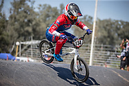 #134 (SMITH Jessie) NZL  at Round 9 of the 2019 UCI BMX Supercross World Cup in Santiago del Estero, Argentina