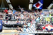 08-05-2016 VOETBAL:RODA JC - WILLEM II:KERKRADE<br /> Supporters van Willem II moeten via de nacompetitie de eredivisie veilig stellen <br /> <br /> Foto: Geert van Erven