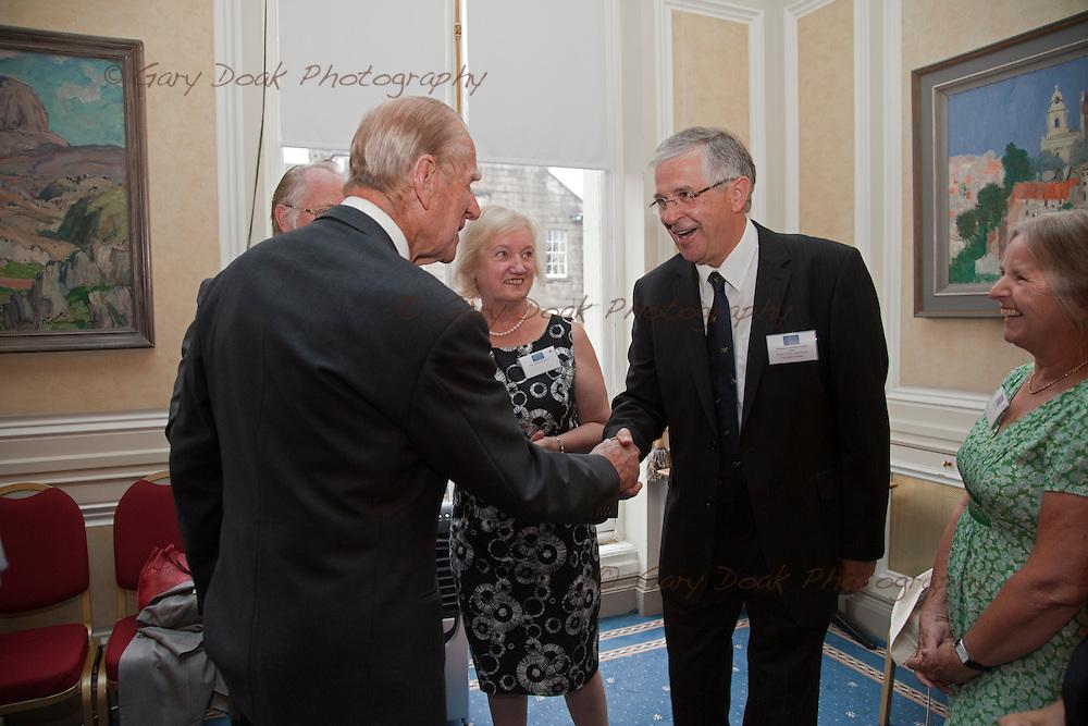Royal Medals presentation by HRH The Duke of Edinburgh at The Royal Society of Edinburgh