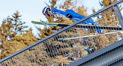28.01.2017, Casino Arena, Seefeld, AUT, FIS Weltcup Nordische Kombination, Seefeld Triple, Skisprung, im Bild Tim Hug (SUI) // Tim Hug of Switzerland in action during his Competition Jump of Skijumping of the FIS Nordic Combined World Cup Seefeld Triple at the Casino Arena in Seefeld, Austria on 2017/01/28. EXPA Pictures © 2017, PhotoCredit: EXPA/ JFK