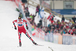 24.02.2013, Langlaufstadion, Lago di Tesero, ITA, FIS Weltmeisterschaften Ski Nordisch, Nordische Kombination, Langlauf Team, im Bild Magnus Moan (NOR) // Magnus Moan of Norway during the Mens Nordic Combined Team Race of the FIS Nordic Ski World Championships 2013 at the Cross Country Stadium, Lago di Tesero, Italy on 2013/02/24. EXPA Pictures ©  2013, PhotoCredit: EXPA/ Federico Modica