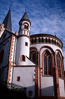 Church in Bacharach, Germany