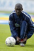 Fotball, Tippeligaen 16. juni 2003, Tippeligaen, Vålerenga-Bryne 3-0. Pa-Modou Kah, Vålerenga