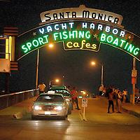 Santa Monica Pier (Santa Monica's most famous landmark) on Tuesday, July 31, 2007.